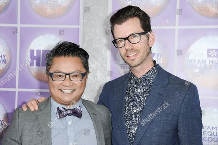 Stock Photo of Alec Mapa, Jamison Hebert arrives at the Family Equality Council Los Angeles Awards Dinner held at the Beverly Hilton, in Beverly Hills, Calif