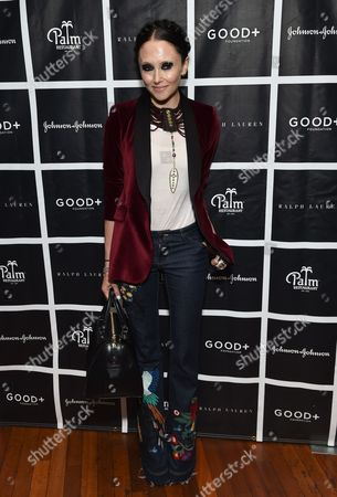 Stacey Bendet Eisner attends the New York Fatherhood Lunch to benefit the Good+ Foundation at The Palm Tribeca, in New York