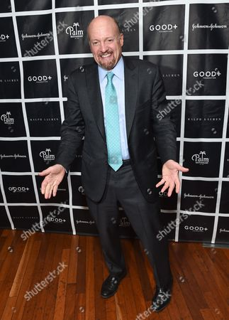 Jim Cramer attends the New York Fatherhood Lunch to benefit the Good+ Foundation at The Palm Tribeca, in New York