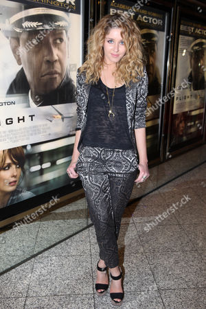 Esmee Denters seen at the UK premiere of Flight at the Empire Leicester Square, in London