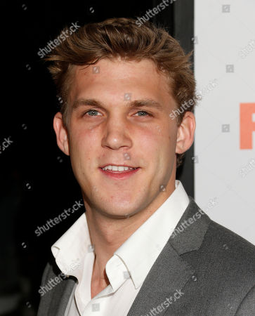 """Stock Photo of Patrick de Ledebur attends the """"Fun Size"""" Los Angeles Premiere at Paramount Studios on in Los Angeles, California"""