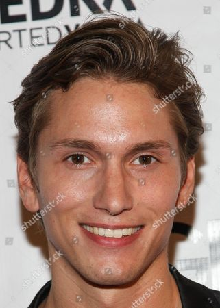 Actor Benjamin Stone arrives at the Genlux Magazine's new issue release party at the Sofitel on in Los Angeles