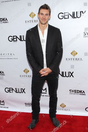 Stock Photo of Actor Zane Stephens arrives at the Genlux Magazine's new issue release party at the Sofitel on in Los Angeles