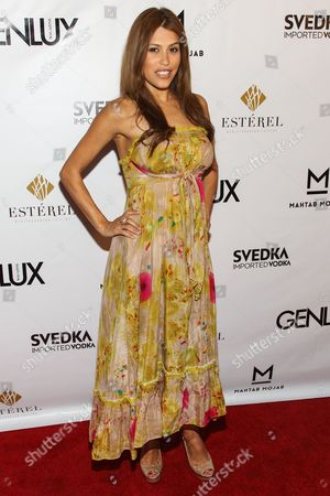 Actress Rachel Sterling arrives at the Genlux Magazine's new issue release party at the Sofitel on in Los Angeles