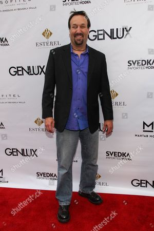 Actor Gabriel Jarret arrives at the Genlux Magazine's new issue release party at the Sofitel on in Los Angeles