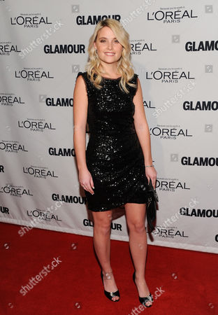 """Stock Image of Writer Erin Merryn attends Glamour Magazine's 22nd annual """"Women of the Year Awards"""" at Carnegie Hall on in New York"""