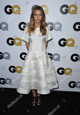"Gillian Zinser arrives at the GQ ""Men of the Year"" event at The Ebell Theatre on in Los Angeles"