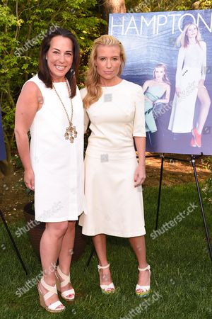 Tracy Anderson, right, and Samantha Yanks attend Hamptons Magazine Memorial Day Soiree celebrating cover star Tracy Anderson, in Southampton
