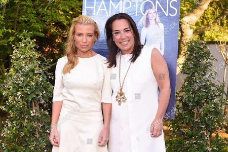 Tracy Anderson, left, and Samantha Yanks attend Hamptons Magazine Memorial Day Soiree celebrating cover star Tracy Anderson, in Southampton