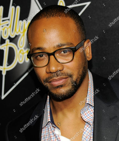 Actor Columbus Short poses at the Hollywood Domino & Bovet 1822 Gala benefitting Artists for Peace and Justice, in West Hollywood, Calif