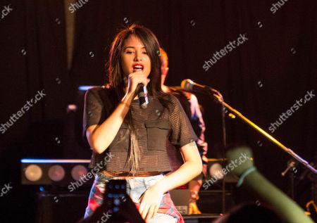 Jasmine V performs during the Jake Miller: Dazed & Confused Tour at The Loft, in Atlanta