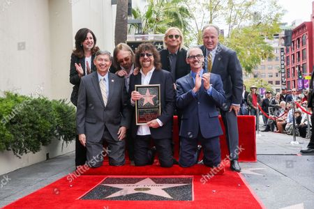 Editorial picture of Jeff Lynne Honored With A Star On The Hollywood Walk Of Fame, Los Angeles, USA