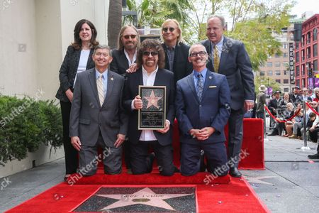 Editorial image of Jeff Lynne Honored With A Star On The Hollywood Walk Of Fame, Los Angeles, USA