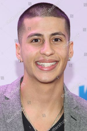 Carlito Olivero arrive at KIIS 102.7 Jingle Ball held at Staples Center, on Friday, December, 6, 2013 in Los Angeles, CA