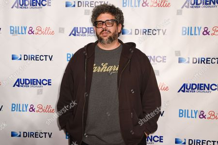 """Neil Labute arrives at a premiere of """"Billy & Billie"""" at The Lot, in West Hollywood, Calif"""