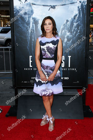 """Alison Levine attends the LA Premiere of """"Everest"""" held at the TCL Chinese Theatre IMAX, in Los Angeles"""