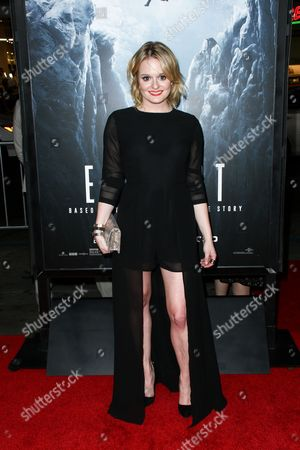 "Stock Image of Fallon Goodson attends the LA Premiere of ""Everest"" held at the TCL Chinese Theatre IMAX, in Los Angeles"