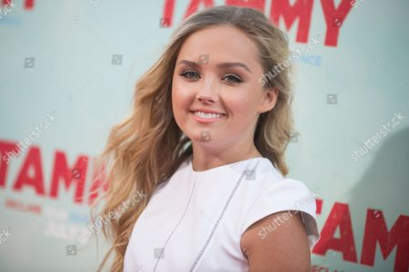 """Mia Rose Frampton arrives at the LA Premiere of """"Tammy"""" at TCL Chinese Theatre, in Los Angeles"""