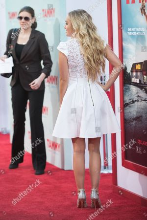 """Mia Rose Frampton arrives at the LA Premiere of """"Tammy"""" held at TCL Chinese Theatre, in Los Angeles"""