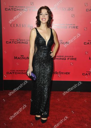 """Editorial picture of LA Premiere of """"The Hunger Games: Catching Fire"""" - Arrivals, Los Angeles, USA"""