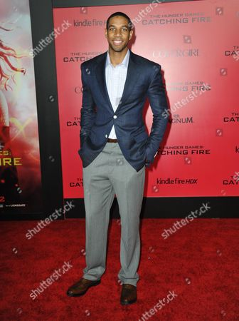 """Editorial image of LA Premiere of """"The Hunger Games: Catching Fire"""" - Arrivals, Los Angeles, USA"""
