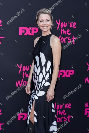 """Editorial picture of LA Premiere of """"You're the Worst"""" Season Three - Arrivals, Los Angeles, USA"""