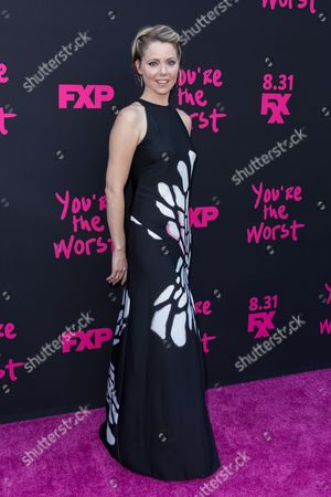 """Editorial image of LA Premiere of """"You're the Worst"""" Season Three - Arrivals, Los Angeles, USA"""