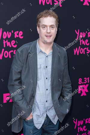 """Todd Robert Anderson arrives at the LA Premiere of """"You're the Worst"""" Season Three at the Neuehouse Hollywood, in Los Angeles"""