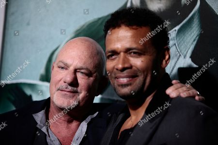 "Director Rob Cohen and actor Mario Van Peebles attends the LA premiere of ""Alex Cross"" at the ArcLight Cinerama dome on in Los Angeles"