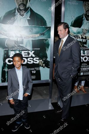 "Sayeed Shahidi; Edward Burns Actors Sayeed Shahidi and Edward Burns attend the LA premiere of ""Alex Cross"" at the ArcLight Cinerama dome on in Los Angeles"