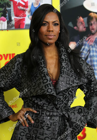 """Stock Picture of Omarosa Manigault-Stallworth attends the premiere of """"Movie 43"""" at the TCL Chinese Theatre, in Los Angeles"""