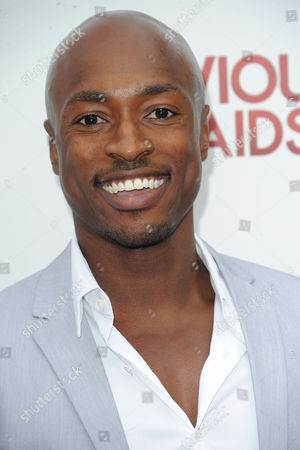 "Wole Parks attend the premiere party for ""Devious Maids"" at the Bel-Air Bay Club on in Los Angeles"