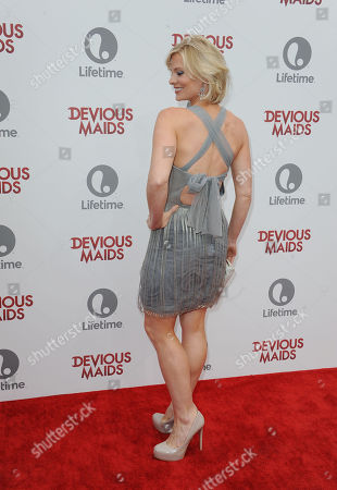 """Melinda Page Hamilton attends the premiere party for """"Devious Maids"""" at the Bel-Air Bay Club on in Los Angeles"""