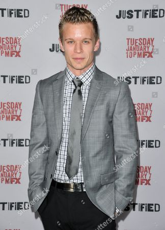"""Jesse Luken arrives at the LA Premiere Screening of """"Justified"""" at the Directors Guild of America on in Los Angeles"""