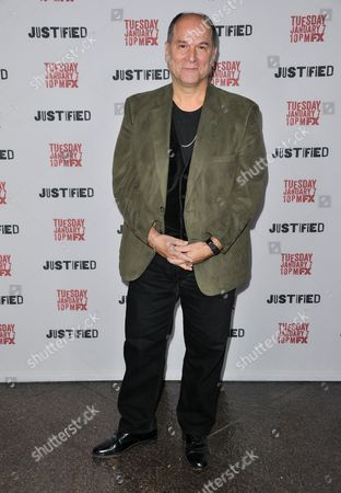"""John Kapelos arrives at the LA Premiere Screening of """"Justified"""" at the Directors Guild of America on Monday, Jan,06, 2014 in Los Angeles"""