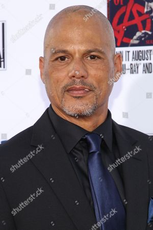 """David Labrava attends the LA Premiere Screening of """"Sons Of Anarchy"""" at at TCL Chinese Theatre, in Los Angeles"""