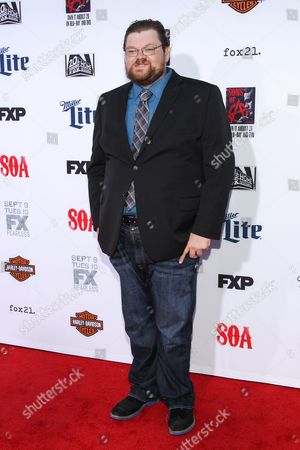 "Editorial photo of LA Premiere Screening of ""Sons Of Anarchy"" - Arrivals, Los Angeles, USA"