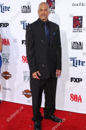 """Editorial picture of LA Premiere Screening of """"Sons Of Anarchy"""" - Arrivals, Los Angeles, USA"""