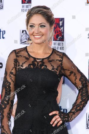 """Stock Photo of Natalie Skyy attends the LA Premiere Screening of """"Sons Of Anarchy"""" at at TCL Chinese Theatre, in Los Angeles"""