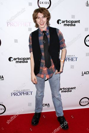 """Nick Azarian attends the LA Special Screening of """"Kahlil Gibran's The Prophet"""" held at LACMA's Bing Theatre, in Los Angeles"""