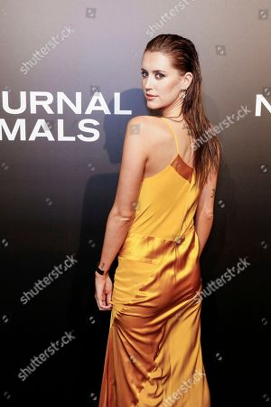 "Model Bianca Booth arrives at the LA Special Screening of ""Nocturnal Animals"" at the Hammer Museum, in Los Angeles"