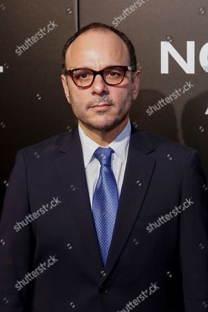 """Robert Salerno arrives at the LA Special Screening of """"Nocturnal Animals"""" at the Hammer Museum, in Los Angeles"""