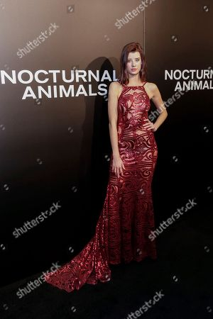 "Editorial photo of LA Special Screening of ""Nocturnal Animals - Arrivals, Los Angeles, USA"