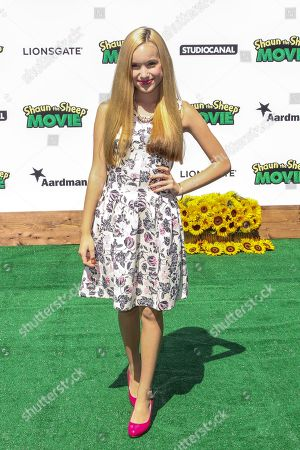 "Brady Reiter attends a special screening of ""Shaun the Sheep Movie"" at the Regency Village Theatre on in Los Angeles"