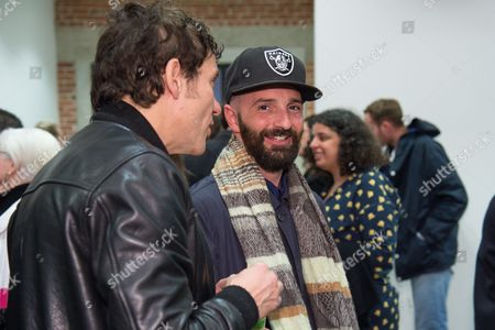 Stock Picture of Piero Golia attends the LAXART Opening at 7000 Santa Monica Blvd., in Los Angeles