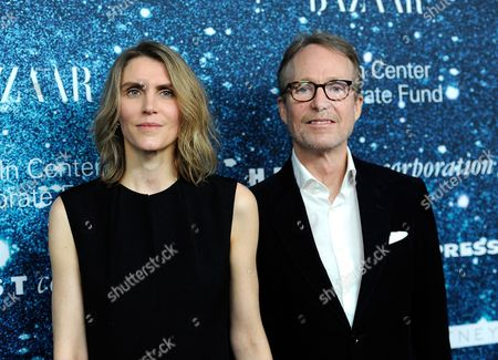 "Gabriela Perezutti Hearst, and Austin Hearst attend ""An Evening Honoring Stella McCartney"" presented by American Express, benefiting the Lincoln Center Corporate Fund, at Alice Tully Hall, in New York"