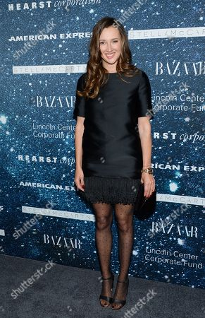 """Maria Baibakova attends """"An Evening Honoring Stella McCartney"""" presented by American Express, benefiting the Lincoln Center Corporate Fund, at Alice Tully Hall, in New York"""