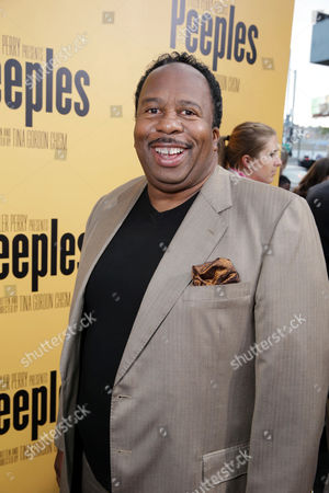 Leslie David Baker arrives at the Lionsgate Los Angeles Premiere of Peeples, on Wednesday, May, 8, 2013 in Los Angeles