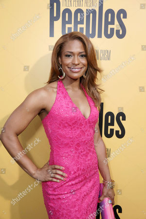 Kimrie Lewis-Davis arrives at the Lionsgate Los Angeles Premiere of Peeples, on Wednesday, May, 8, 2013 in Los Angeles
