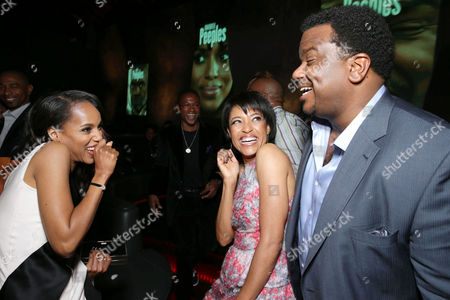 Kerry Washington, Writer/director Tina Gordon Chism and Craig Robinson at the Lionsgate Los Angeles Premiere of Peeples, on Wednesday, May, 8, 2013 in Los Angeles